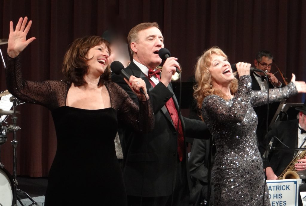 Sinatra & Co. featuring Colleen Raye, Tim Patrick, and Debbie O'Keefe will be the evening's entertainment. They will be accompanied by the Blue Eyes Band.